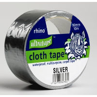 "ULTRATAPE 2"" (50mm) X 10M GREY GAFFER/ CLOTH TAPE"
