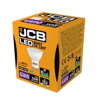 JCB GU10 LED 5w (50w) 370lm WARM WHITE- 3000K (W)