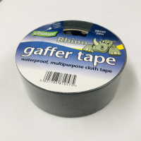 "ULTRATAPE 2"" (50mm) X 50M BLACK GAFFER/ CLOTH TAPE"