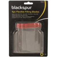 BLACKSPUR 4PC FLEXIBLE FILLING BLADES