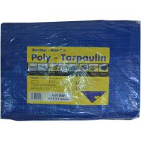 WEATHER GUARD 1.8 X 1.2M BLUE POLY TARPAULIN