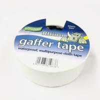 "ULTRATAPE 2"" (50mm) X 50M WHITE GAFFER/ CLOTH TAPE"