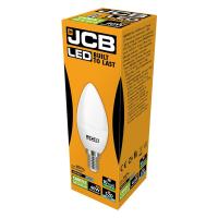 JCB CANDLE LED 6w (40w) 520lm DAYLIGHT E14- 6500K