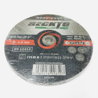 "RECKTO 9"" (230MM) STAINLESS STEEL INOX CUTTING DISC"
