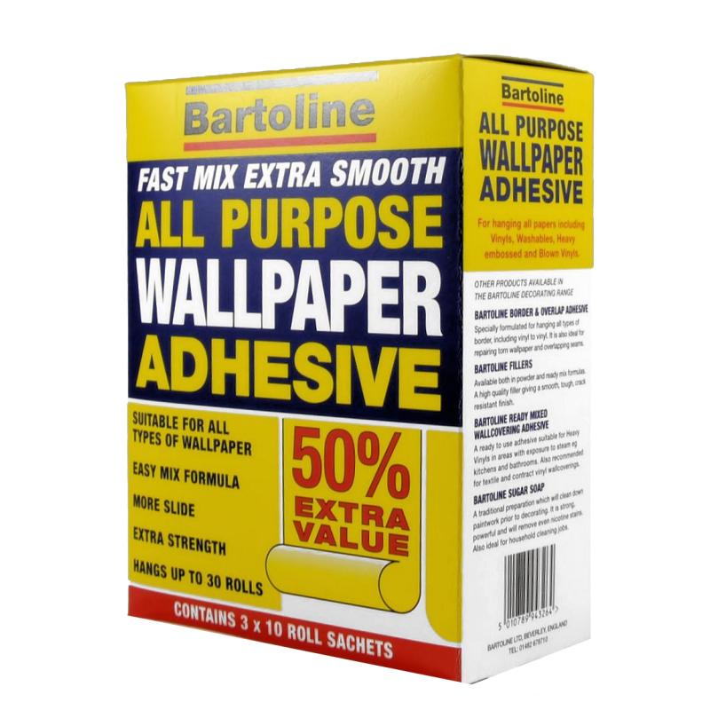 BARTOLINE 30 ROLL WALLPAPER ADHESIVE | Mark up Wholesale
